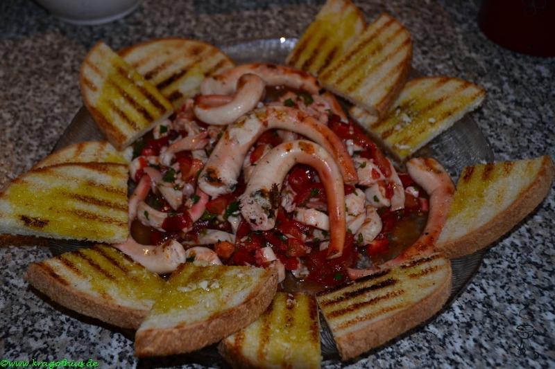 Pulpo Thomaten Salat